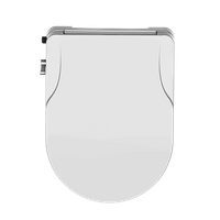 Non Electric Bidet seat- European Style U-Shaped(D Shaped)